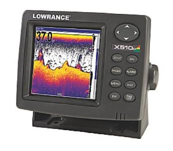 Lowrance X 510c Fish Finder Parts